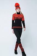 Вязаный свитер Скандинавия Разные цвета