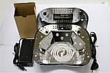 Лампа гибрид для сушки на 48 вт LED + CCFL таймер 10,20,30 сек ОРИГИНАЛ, фото 4