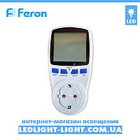 Энергометр Feron TM55 Портативний лічильник електроенергії