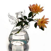 Вазочка для цветов декоративная в виде ангелочка