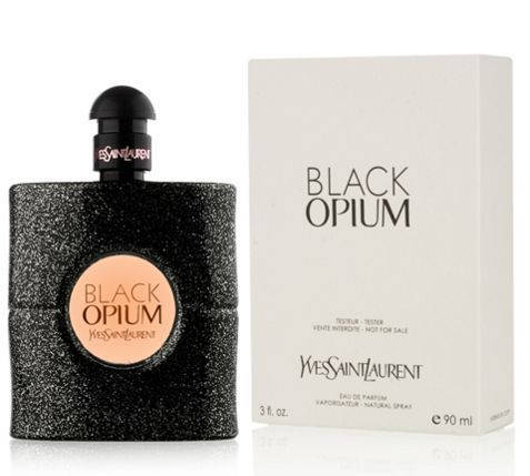 Женские духи Tester - Yves Saint Laurent YSL Black Opium 100 ml, фото 2