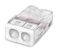 WAGO-клеммы 2273-242-Соединитель COMPACT для распределительных коробок 2-проводная клемма с пастой