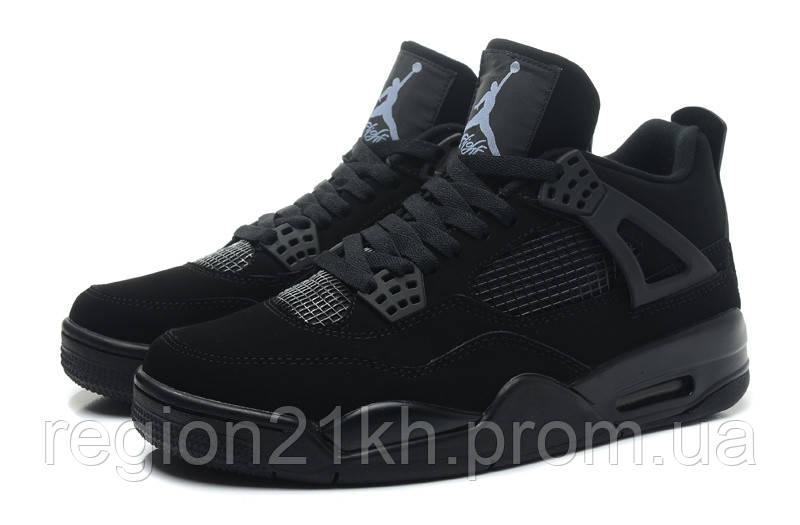 Баскетбольные кроссовки Nike Air Jordan Retro IV 4 Black Cat - REGION21 в  Харькове 18f244899bd