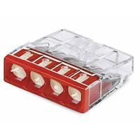 WAGO-клеммы 2273-244-Соединитель COMPACT для распределительных коробок 4-проводная клемма с пастой