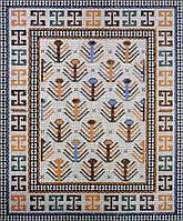 Мозаика мраморная