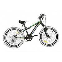 Велосипед Mascotte Spark 20 черно-зеленый