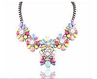 Ожерелье Big bob мульти/бижутерия/цвет цепочки золото