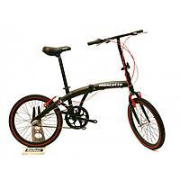 Велосипед Mascotte M1 20 чернный складник