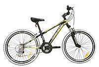 Велосипед Mascotte Team 24 черно-желто-белый