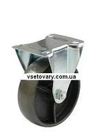 Термостойкое из чугуна с подшипником скольжения, не поворотное, диаметр 100 мм.