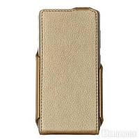 Чехол для телефона RED POINT Xiaomi Redmi 3s - Flip case (Gold) ФК.115.З.09.23.000
