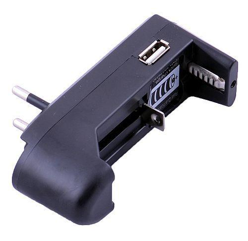 Зарядное устройство для аккумуляторов 18650 с USB