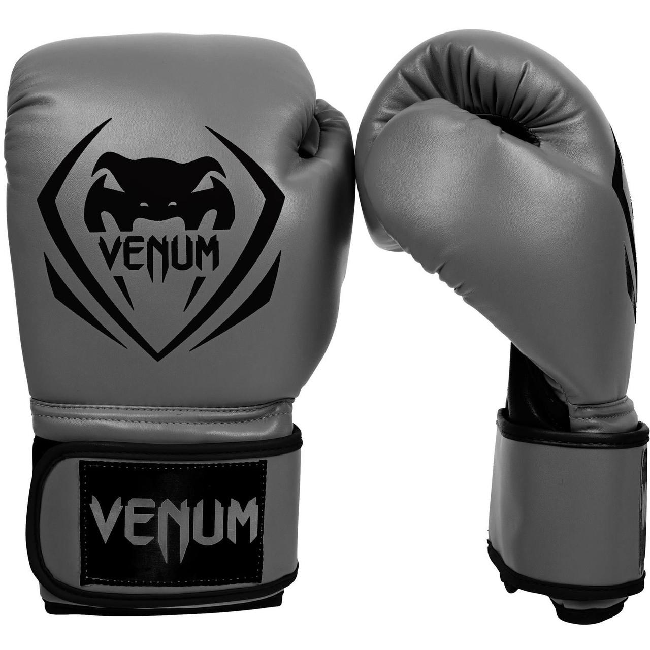 Перчатки боксерские Venum Contender grey 12oz