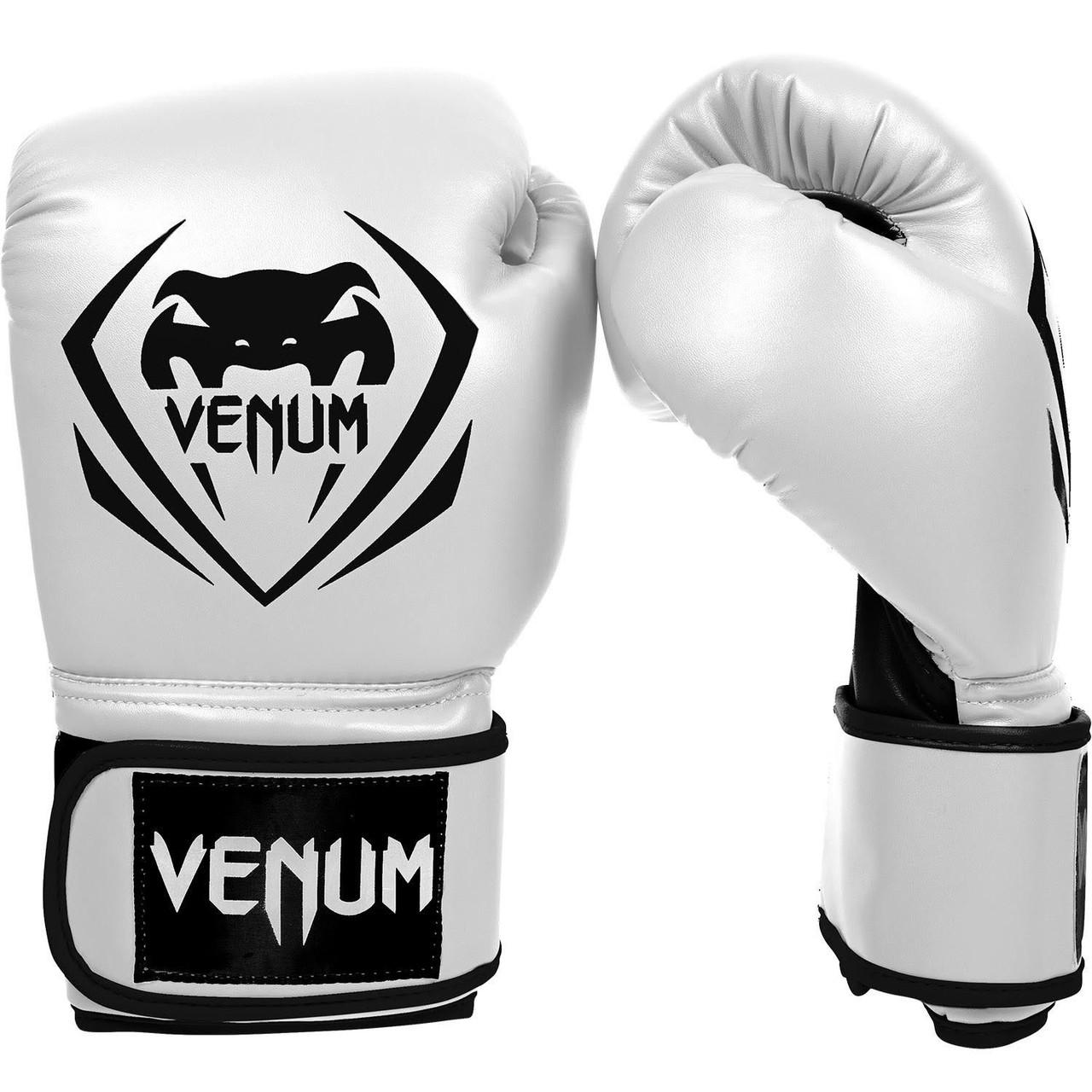 Перчатки боксерские Venum Contender ice 8oz