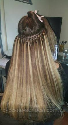 нарощування волосся на кільцях