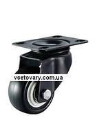Полиуретановое с полиамидным осн-ем, поворотное, диаметр 50 мм.