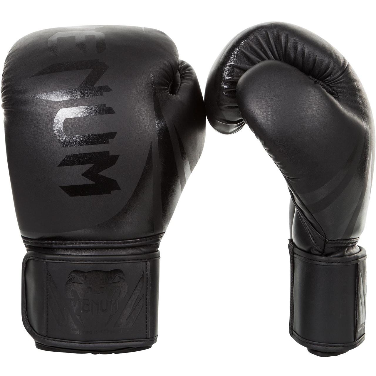 Перчатки боксерские Venum Challenger 2.0 Black Matte 12oz