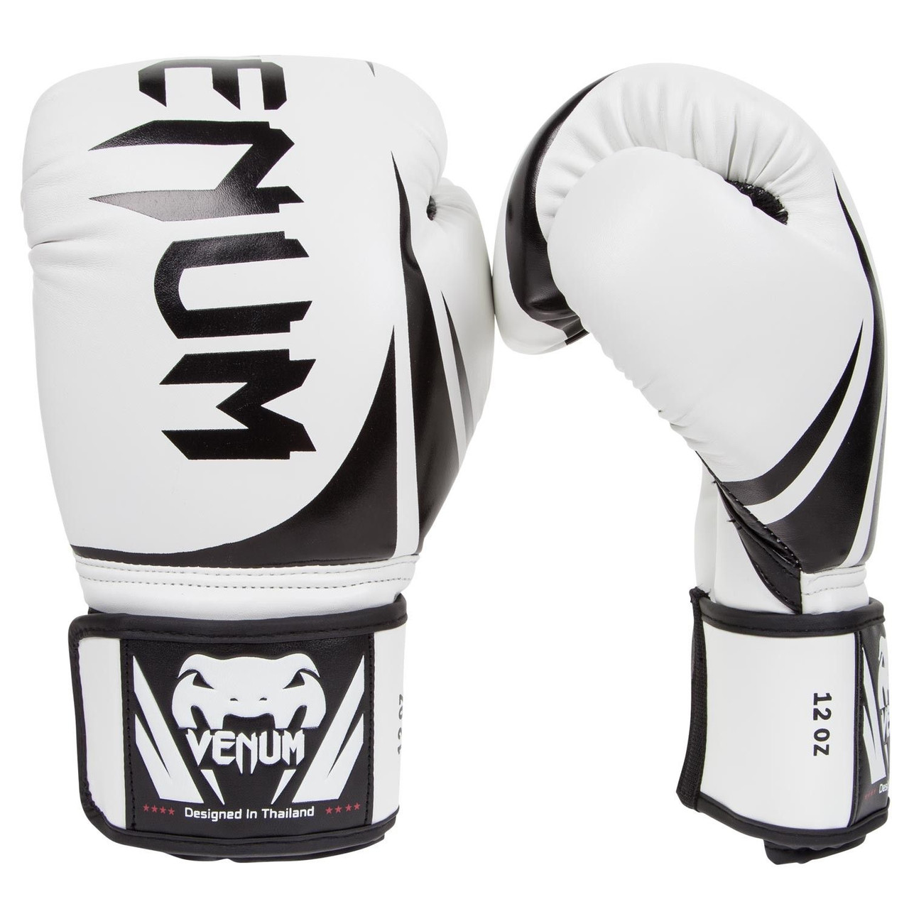 Перчатки боксерские Venum Challenger 2.0 Ice/Black 10oz