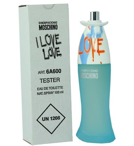 Женские духи Tester - Moschino I Love Love 100 ml