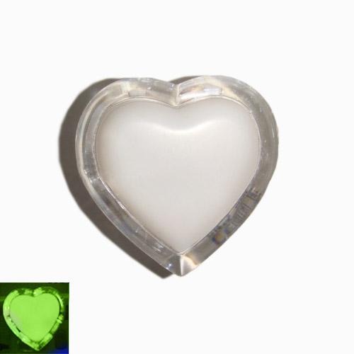 Нічник Серце зелений 3 LED / Lemanso NL4