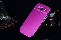 Чехол Motomo Aluminum для Samsung I9300i Galaxy S3 Neo Duos Для телефона, Samsung, ярко-розовый