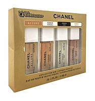 Подарочный набор Chanel Coco с феромонами 4 по 15 ml