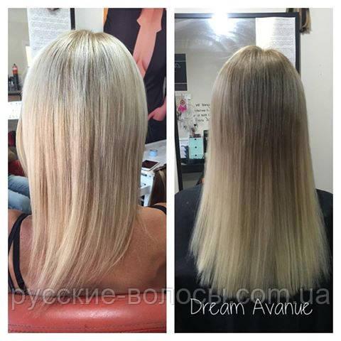 ленточное наращивание волос