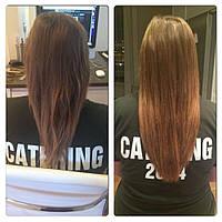 Нарощування волосся на тресс