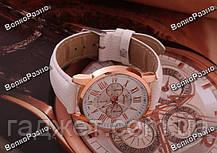 Часы Geneva с ремешком с кожи PU белого цвета, фото 3