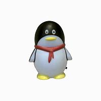 Ночник Пингвин черный / Lemanso NL12