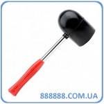 Киянка резиновая 1250г. 90мм. черная резина, металлическая ручка. HT-0228 Intertool
