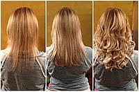 Наращивание волос густоты кончиков - загущения