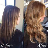 Нарощування волосся на капсулах