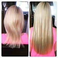 Капсульне нарощення волосся - наростити дешево