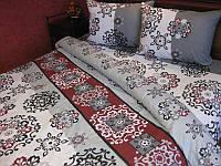 Комплект постельного белья Tirotex бязь двойной двуспальный 19