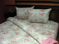 Комплект постельного белья Tirotex бязь двойной двуспальный 32