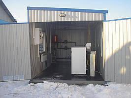 Блочная газовая котельная БТК 200 (эконом вариант)