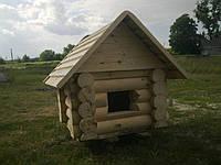 Будка деревянная со сруба