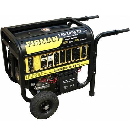 Генератор бензиновый Firman FPG7800 E2, фото 2