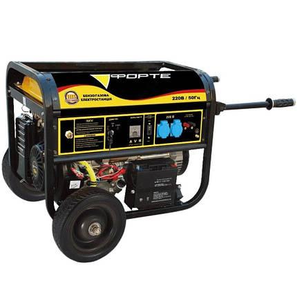 Генератор бензиновый Forte FG9000E, фото 2