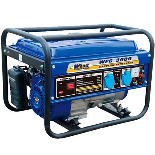Генератор бензиновий Werk WPG 3000