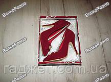 Женские туфли красного цвета., фото 2
