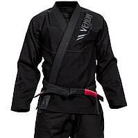 Кимоно Venum Elite BJJ  A2.5 black/black, фото 1