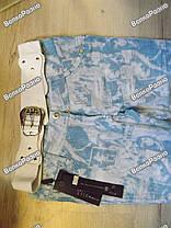 Новые, очень красивые летние штаны + пояс в комплекте, фото 3
