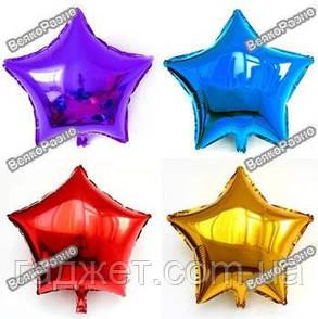 Воздушный шар из фольги - звезда, фото 2