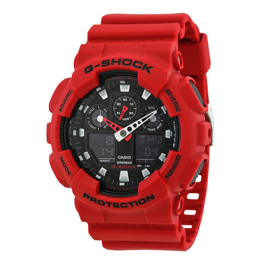 Часы мужские Casio G-Shock XL GA-100B-4AER