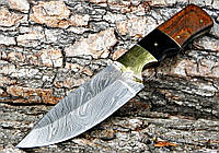 Нож дамасский Клинок ручная работа K1 011Bl