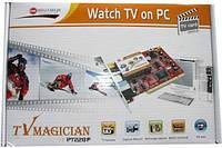TV тюнер PT228F; PCI, встраиваемый, ДУ, FM