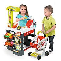 Детский супермаркет с электронной кассой Smoby 19Т350210