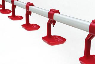 Комплект ниппельных поилок в сборе 50см